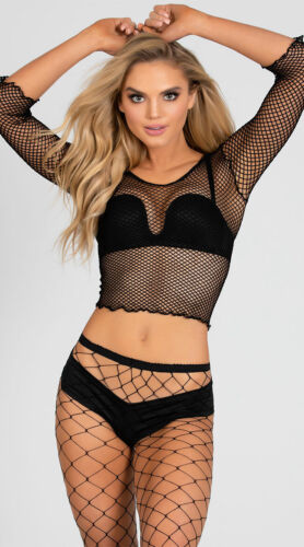 One Size Fits Most Womens Spandex Net Shirt