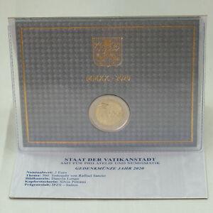 2 Euro Gedenkmünze Münze coin Vatikan vatican Raffaello Sanzio BU ST 2020