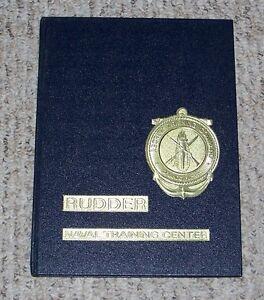 1976 Rudder Naval Training Yearbook Orlando FL Company 144 US Navy