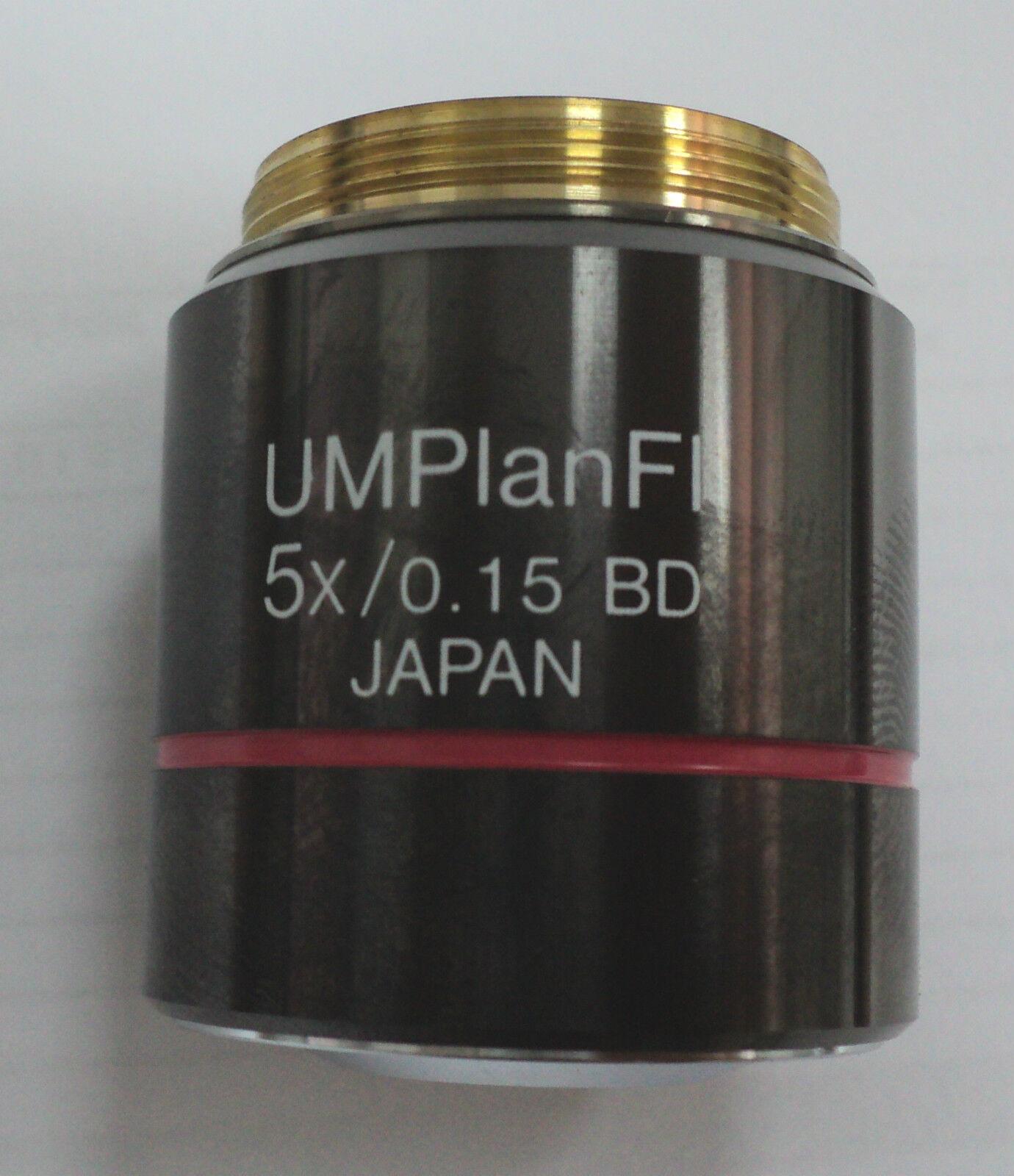 Microscope Objective Olympus UMPlanFL 5x 0.15 BD ∞