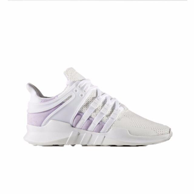 new product d7ec4 64b5d adidas Originals EQT Support ADV Women's White/white/purple Glow BY9111 Sz  9.5