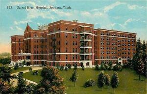 Spokane-Washington-Sacred-Heart-Hospital-Balconies-Grounds-1915-Postcard