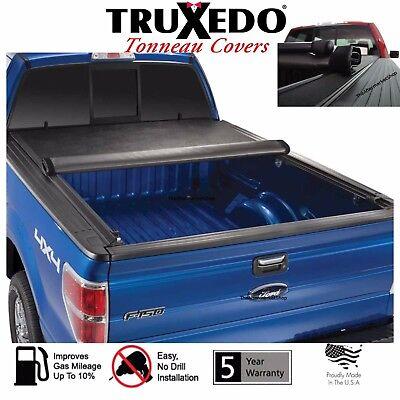 Black Series Auto Soft Tri-Fold Tonneau Cover 2014-2019 Tundra 6.5-Feet Box