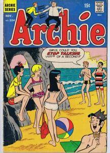 Archie-204-1970-ORIGINAL-Vintage-GGA-Good-Girl-Art-Double-Swimsuit-Cover