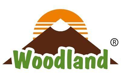 Woodland® Profi Kellnerbörse Kellner-Tasche Büffelleder 562 Dunkelbraun/Taupe