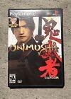Onimusha: Warlords (Sony PlayStation 2, 2001) Free Shipping