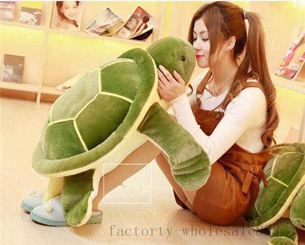Giant Huge big Plush Tortoise Turtle Stuffed Animal Soft Toys doll gift new 32''