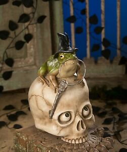 Bethany-Lowe-Toady-On-Skull-TD8585-New-Toad-On-Skull