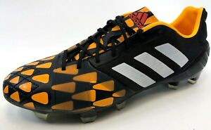 NEW-Adidas-Mens-UEFA-Champion-Nitrocharge-1-0-FG-Black-Soccer-Football-Cleat-7-5