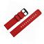 WOCCI-Silikon-Gummi-Uhrenarmband-mit-Schwarzer-Schnalle-Schnellverschluss-Ersat Indexbild 4