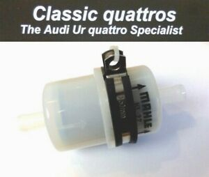 NEW-FUEL-PRE-FILTER-amp-S-STEEL-CLAMP-AUDI-UR-QUATTRO-TURBO-COUPE-COUPE-80-90