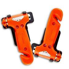 Zone Tech 2x Car Window Breaker Seat Belt Safety Emergency Hammer Cutter Tool