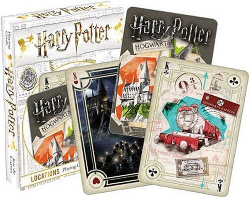 LOCATIONS 52479 HARRY POTTER 52 CARDS NEW PLAYING CARD DECK