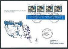 2003 VATICANO FDC VENETIA 362 PITTORI LIBRETTO TIMBRO DI ARRIVO - BV21
