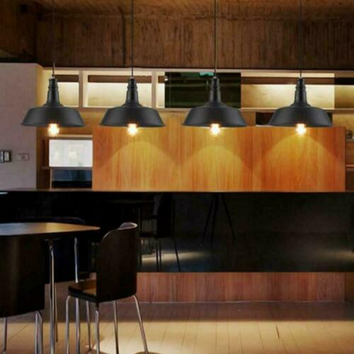 Ceiling Light Pendant Lamp Shade Easy Fit Cafe Retro Kitchen Dining Lampshade