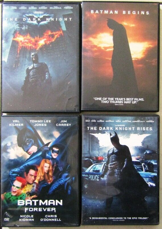 Batman Collection - 5 DVD's in total