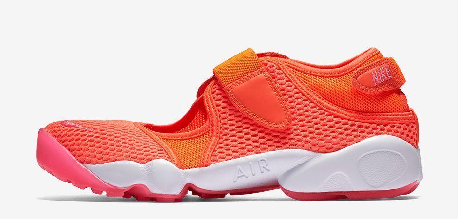 Nike Bir RIFT BR Neu Gr:40,5 Rot/Pink Sandale Sommer Badelatsche Presto Sandal