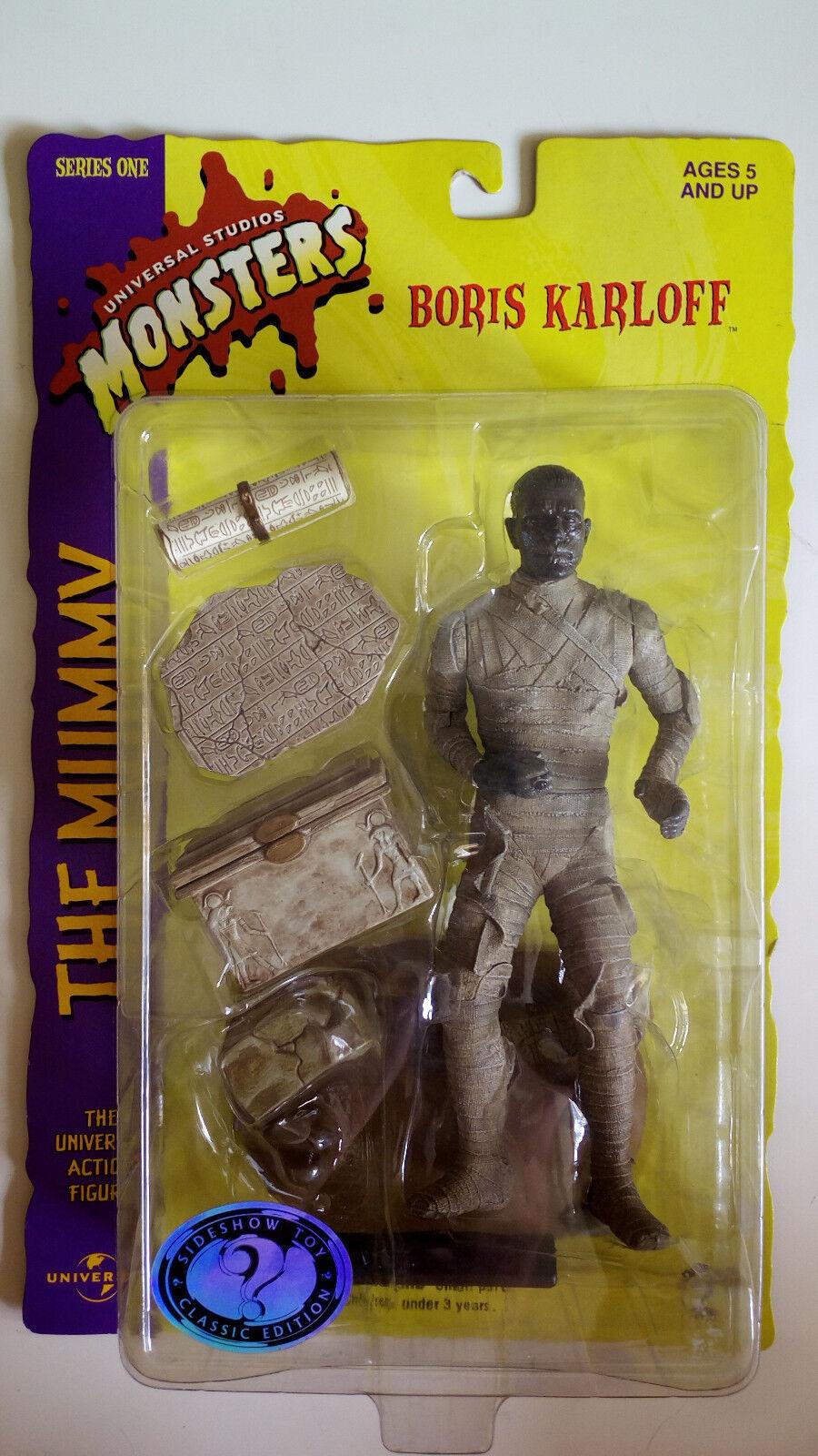 The Mummy Figur Boris Karloff von Sideshow Toy  Neu & Ovp  Serie One