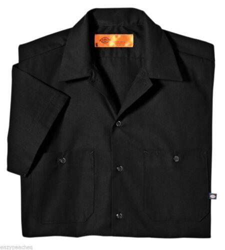 Dickies Men/'s NEW Size S-5XL Pocket Short Sleeve Industrial Work Shirt ls535