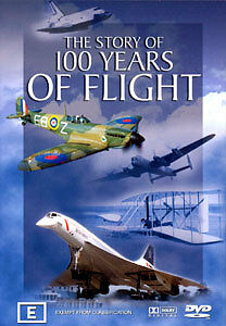 Details about THE STORY OF 100 YEARS OF FLIGHT - EVOLUTION OF PLANES  DOCUMENTARY DVD