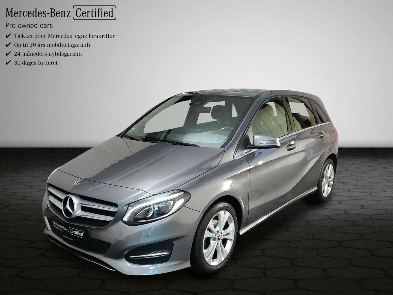 Mercedes B200 1,6 aut. 5d - 274.800 kr.