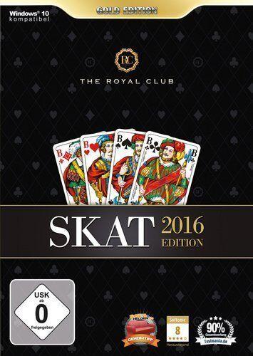 PC Computer Spiel ***** The Royal Club - Skat 2016 Gold Edition 16 ******NEU*NEW