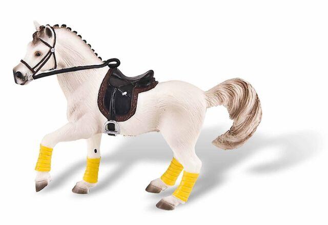 Araber Stute - Pferde Figur mit Sattel - Bullyland Pferd Sammelfigur 62677 NEU