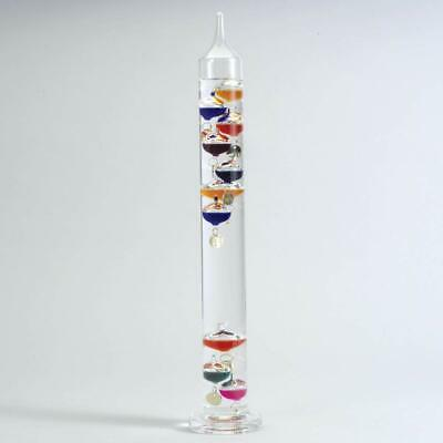 Large 44cm Tall Free Standing Galileo Thermometer in Gift Packaging