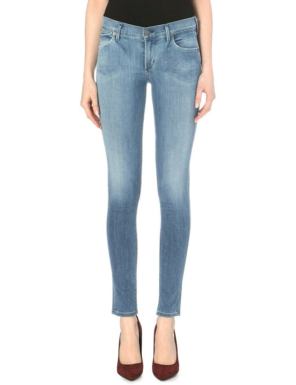CITIZENS OF HUMANITY AVEDON ULTRA SKINNY LEG JEANS IN BERKELEY 25 NEW