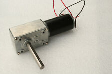 Worm Geared Motor 12v Dc High Torque 80 Rpm