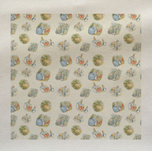 Peter Rabbit Nursery Kids Children Fabric Cotton Upholstery Quilting Craft