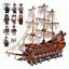 Olandese-Volante-Pirati-Dei-Caraibi-Compatibile-3642-pz-The-Flying-Dutchman miniatura 1