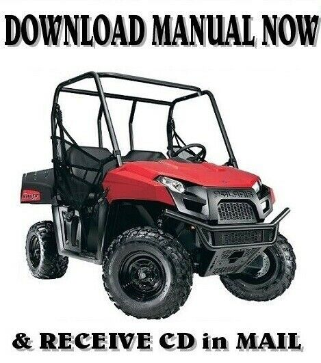 Polaris Ranger 500 4x4 Efi Factory Repair Service Manual