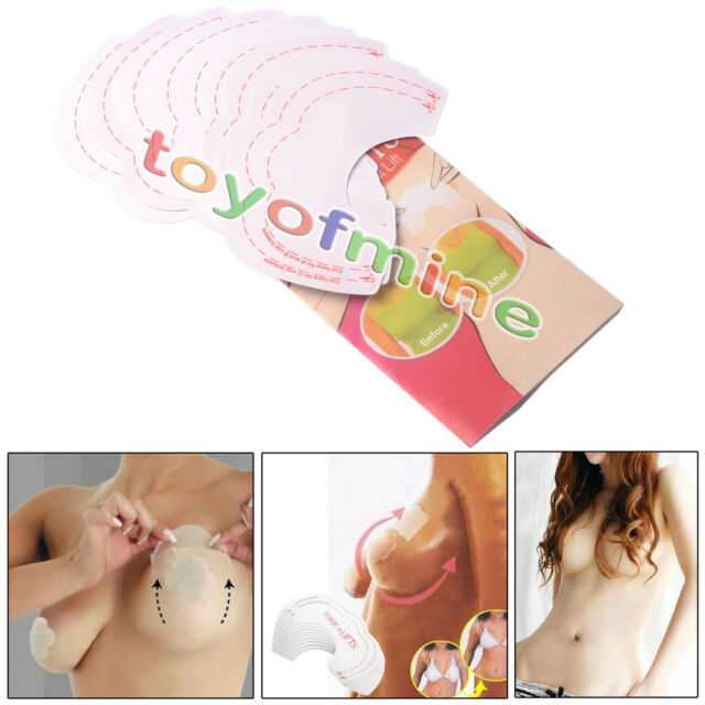 7925c0caef805 10x Instant Breast Lift Bra Invisible Tape Push up Boob Uplift Shape  Enhancers