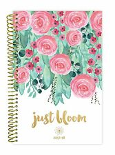 bloom daily planners 2017-18 Academic Year Daily Planner, Just Bloom Aug-Jul