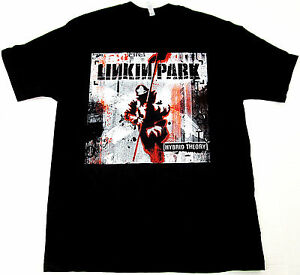 9d0d7cb669a Image is loading LINKIN-PARK-Hybrid-Theory-T-shirt-Adult-Black-
