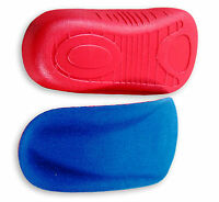 SureSoles 3/4 LENGTH FOOT ORTHOTIC ARCH SUPPORT INSOLES 2 Sizes Standard Range