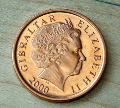 2000 Gibraltar 1 Penny Barbary Partridge Unc.