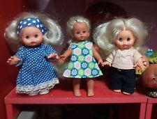 lot de 3 poupée italienne mini furga