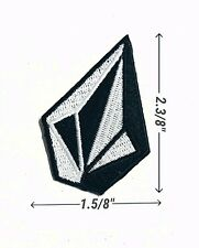 Volcom Logo iron and sewing on patches