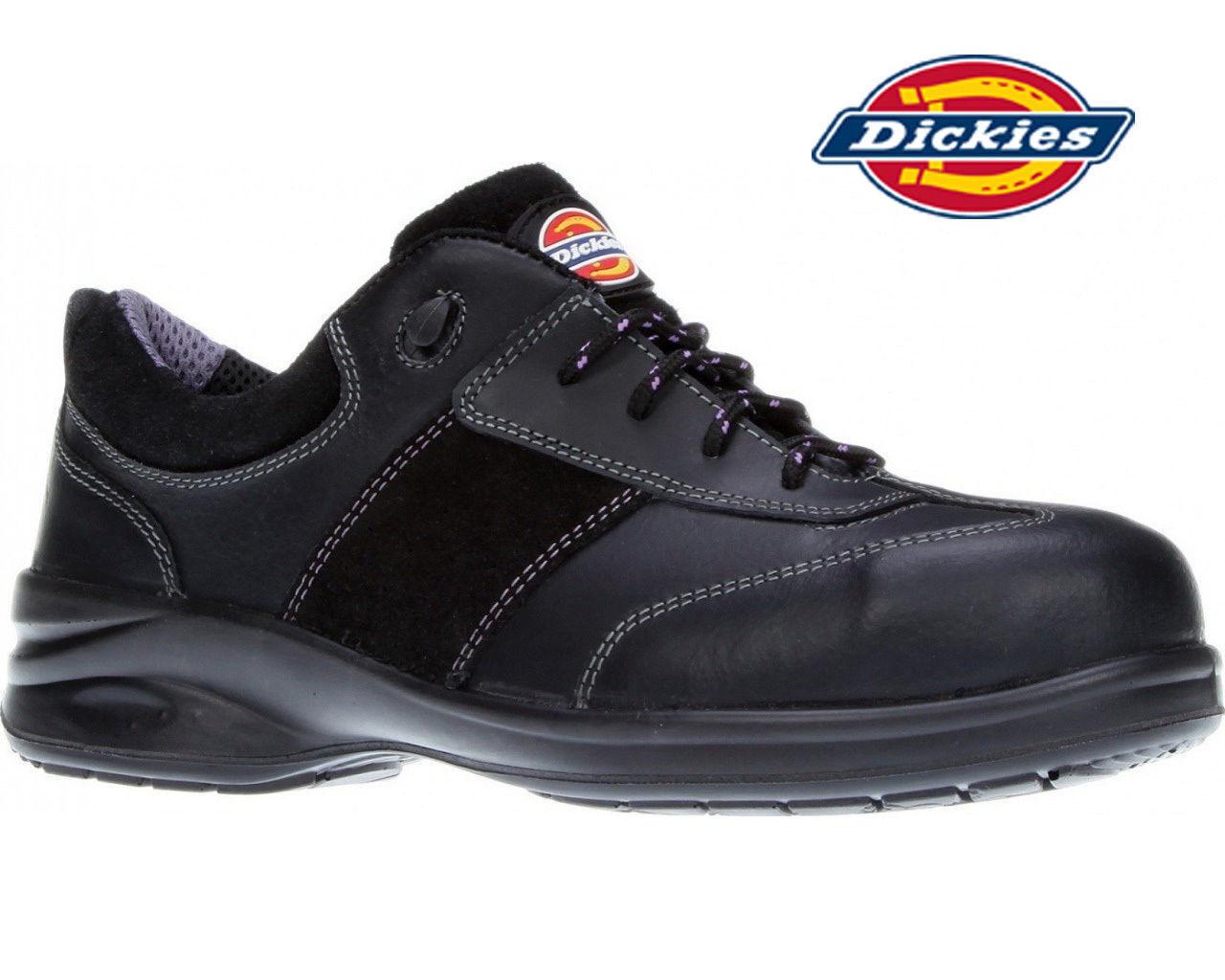 Dickies Mujer Zapato de seguridad Velma Talla trabajo entrenadores Puntera acero Talla Velma cc180f