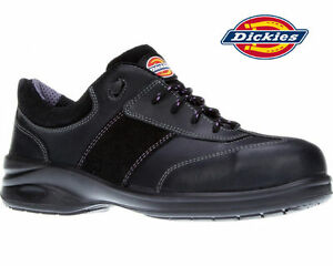 81d52a1e6b2 Details about Dickies Ladies Safety Shoe VELMA Trainers Work Safety Steel  Toe Cap Size 3-8