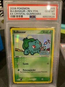 PSA-10-BULBASAUR-REVERSE-HOLO-Pokemon-TCG-Crystal-Guardians-45