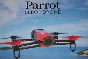 PARROT BEBOP DRONE Quadcopter RED