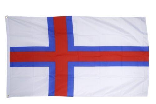 Fahne Färöer-Inseln Flagge färöische Hissflagge 90x150cm