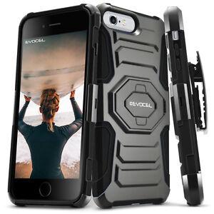 iPhone-8-Case-Evocel-Dual-Layer-Armor-Case-w-Kickstand-amp-Belt-Clip-iPhone-7