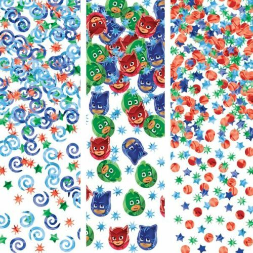 PJ MASKS CONFETTI VALUE PACK ~ Birthday Party Supplies Table Decorations Foil