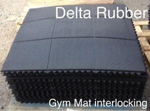 Interlocking Rubber Floor Mats Gym