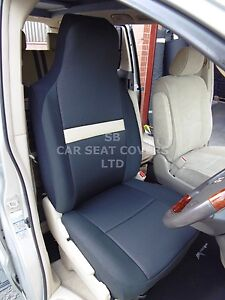 SUITABLE-TOYOTA-ALPHARD-CAR-SEAT-COVERS-ISOLA-BLACK-BEIGE-2-FRONTS