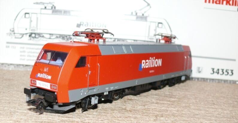 Märklin k14 34353 DB e Lok BR 152 073-3 Railion